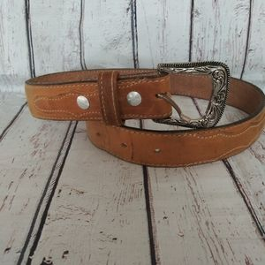 Boys mexican leather belt